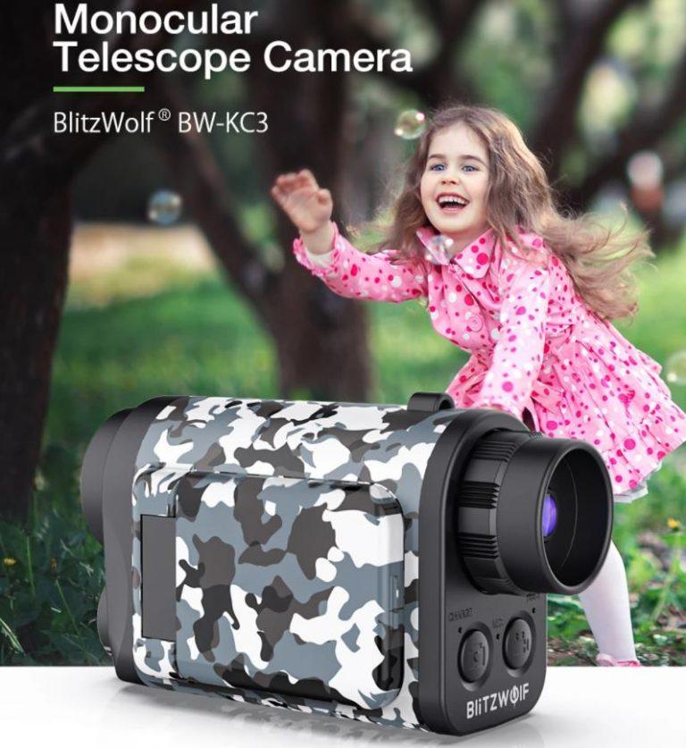 Kamerás gyerektávcsövet dobott piacra a BlitzWolf 4