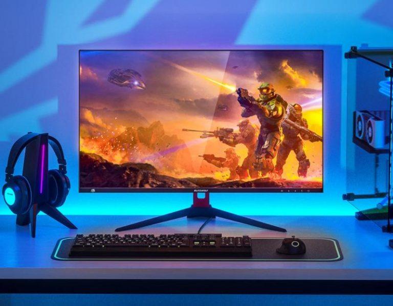 Két gamer monitorral állt a nyilvánosság elé a BlitzWolf 8