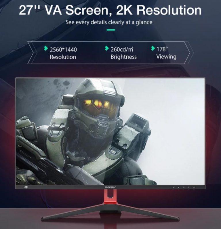 Két gamer monitorral állt a nyilvánosság elé a BlitzWolf 3