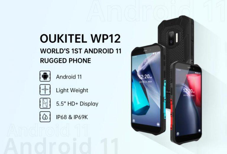 Android 11-gyel érkezett az Oukitel WP12 3