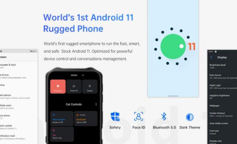 Android 11-gyel érkezett az Oukitel WP12 11