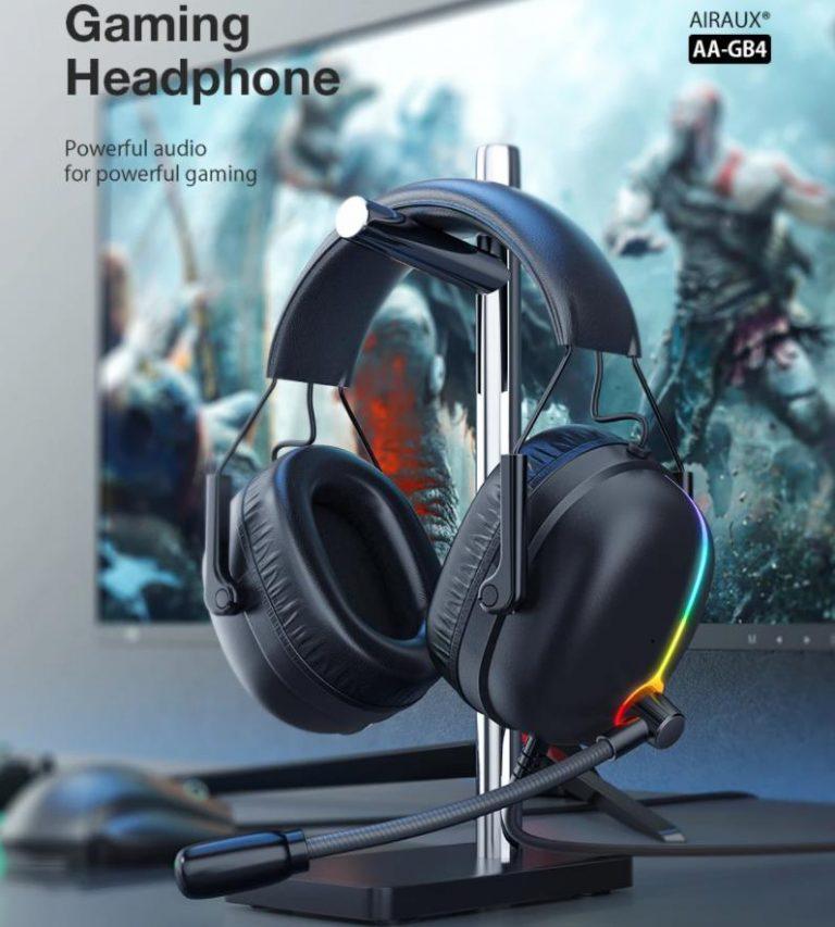 Retró stílusú gamer fejhallgató az Airaux következő dobása 3