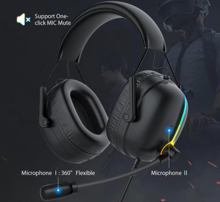 Retró stílusú gamer fejhallgató az Airaux következő dobása 7