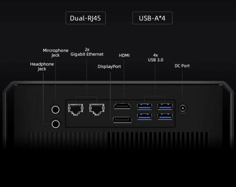 Régebbi i7-es processzoros a Chuwi CoreBox X mini PC 4