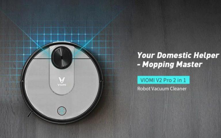 Soha nem látott alacsony áron vihető a Viomi V2 Pro robotporszívó 2