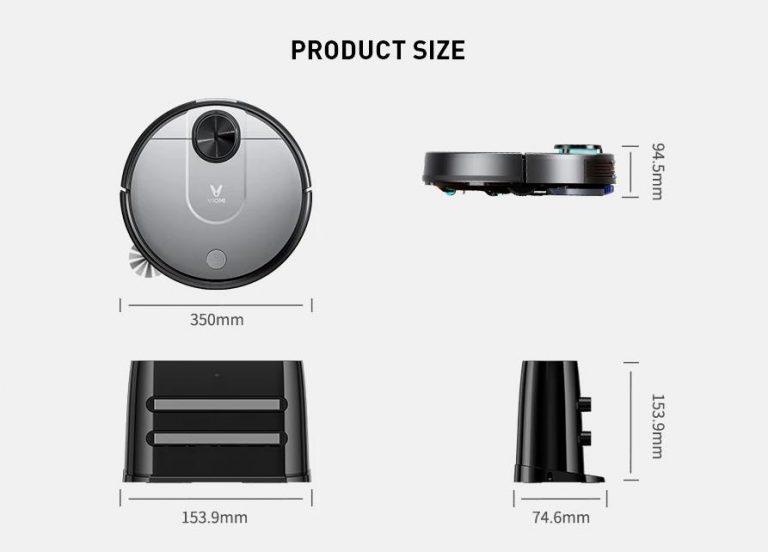 Soha nem látott alacsony áron vihető a Viomi V2 Pro robotporszívó 11