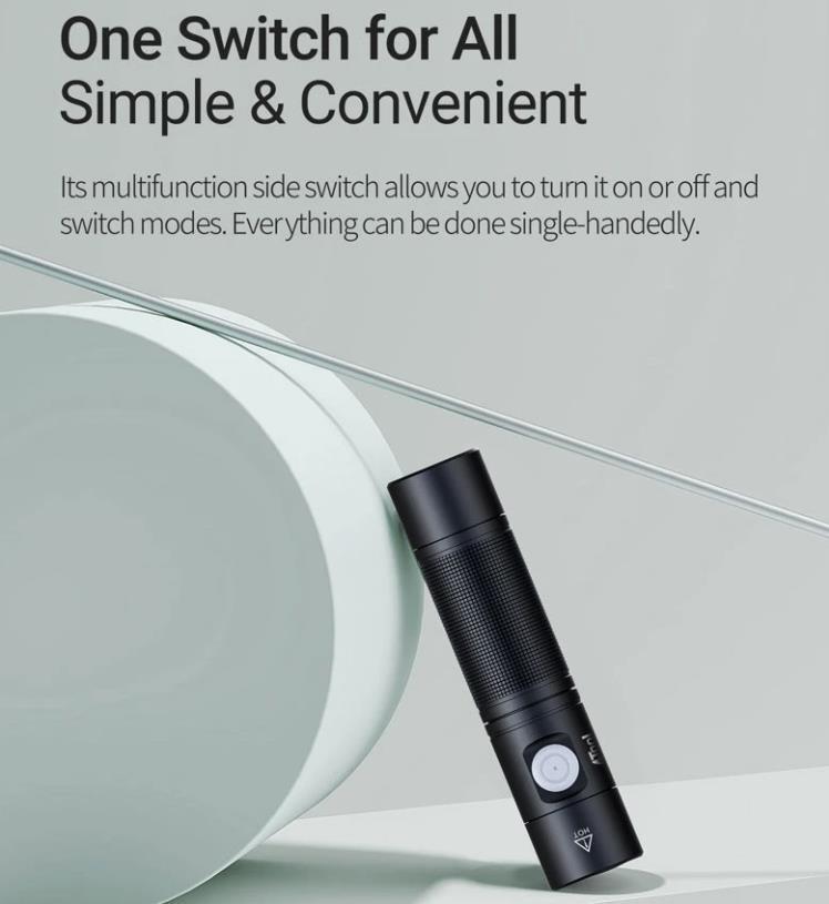 Kuponos akcióban jó áron vihető a 4Tool ED10 zseblámpa 2