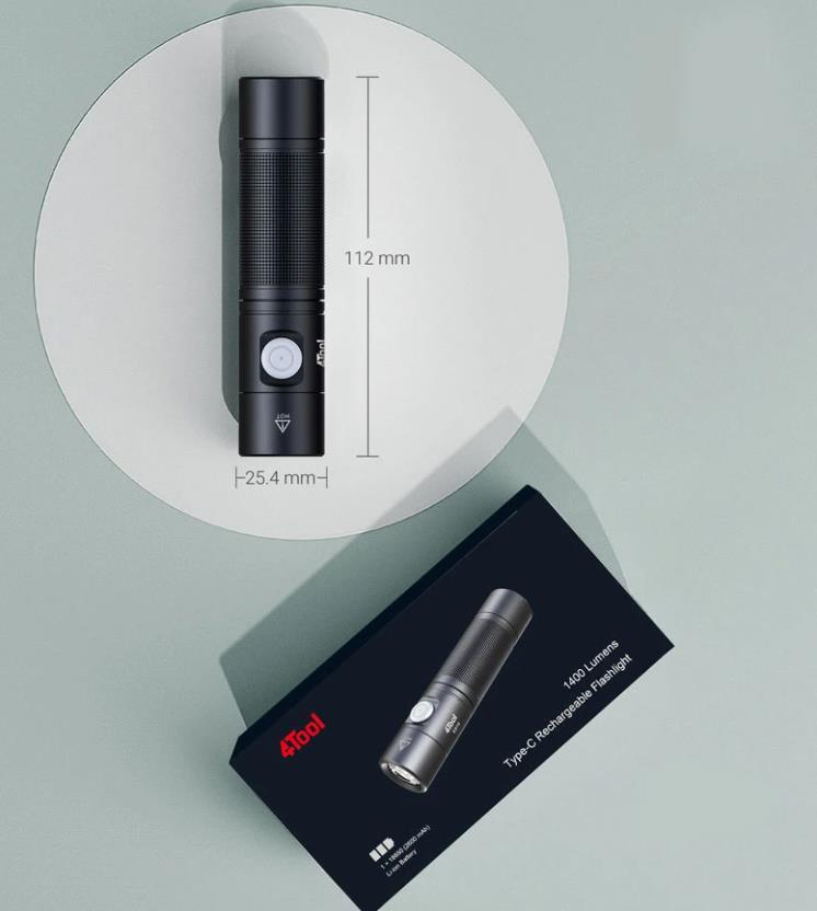 Kuponos akcióban jó áron vihető a 4Tool ED10 zseblámpa 11