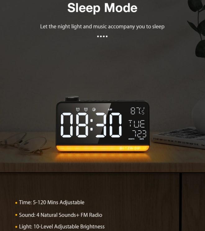 A BlitzWolf is villantott egy többfunkciós ébresztőórát 5