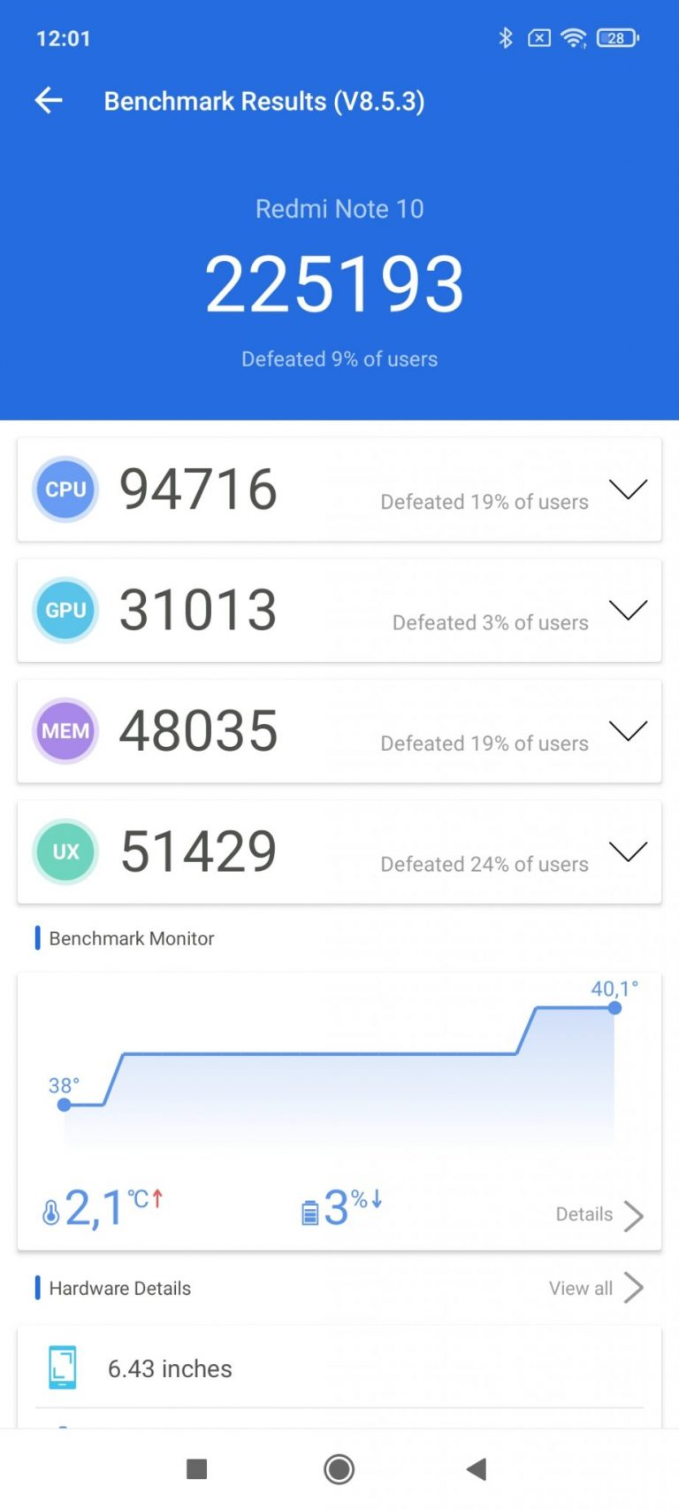 Xiaomi Redmi Note 10 okostelefon teszt 28