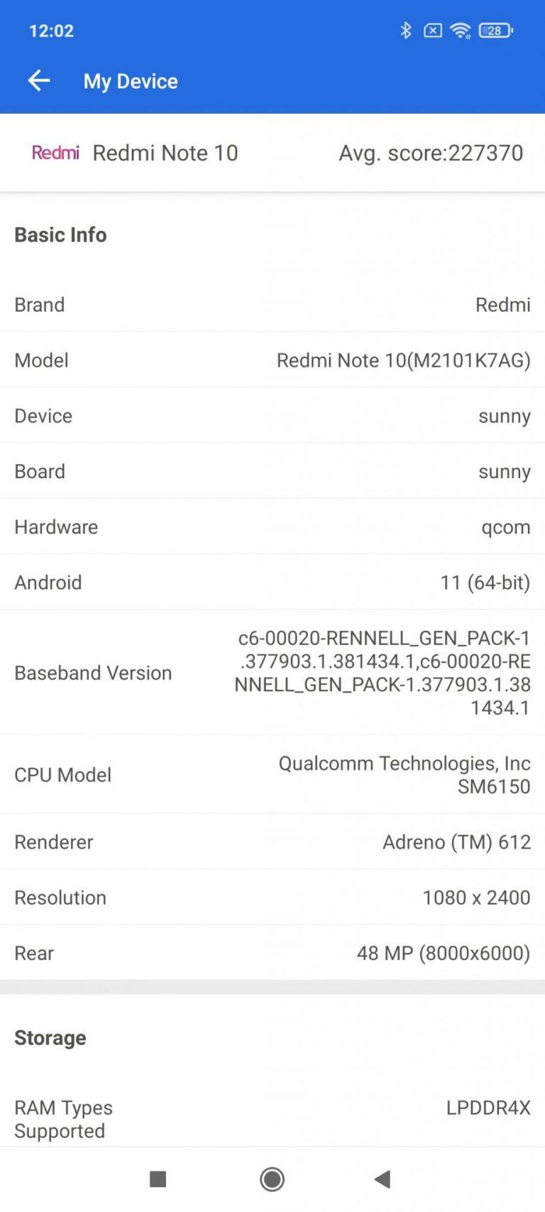 Xiaomi Redmi Note 10 okostelefon teszt 31