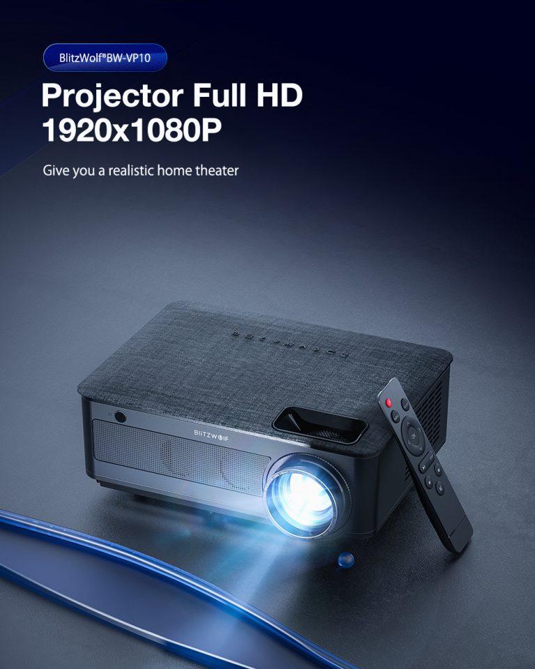 Újabb BlitzWolf projektor debütált 2