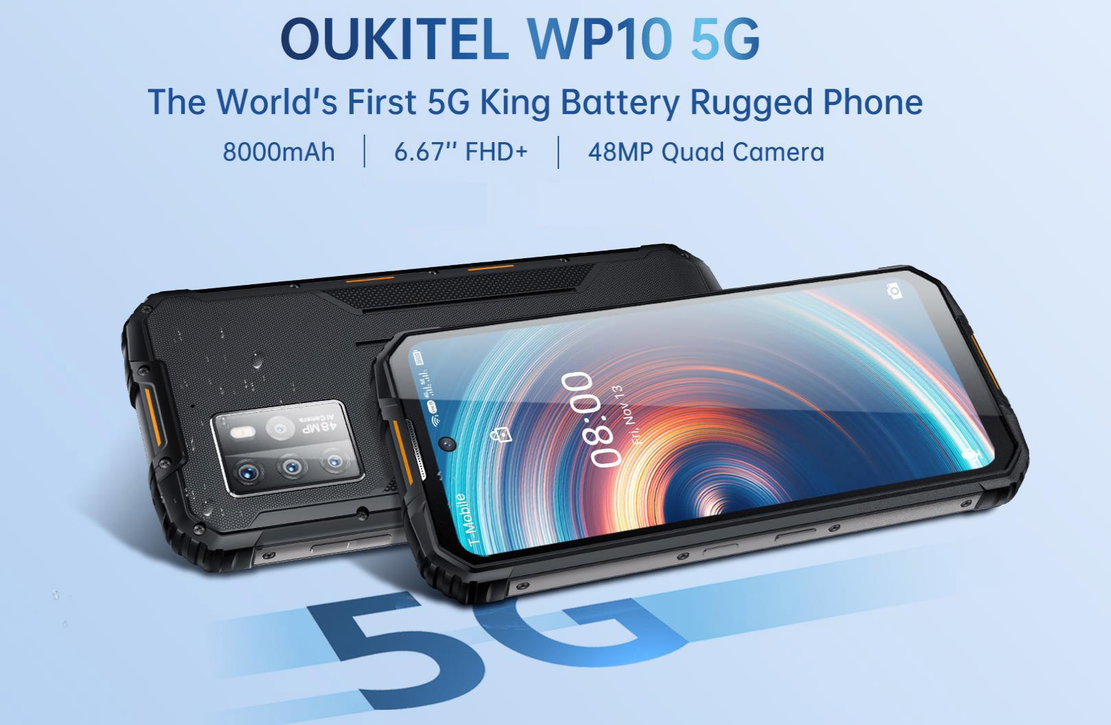 Akciós az 5G-s Oukitel WP10 a hivatalos Ali boltban 10