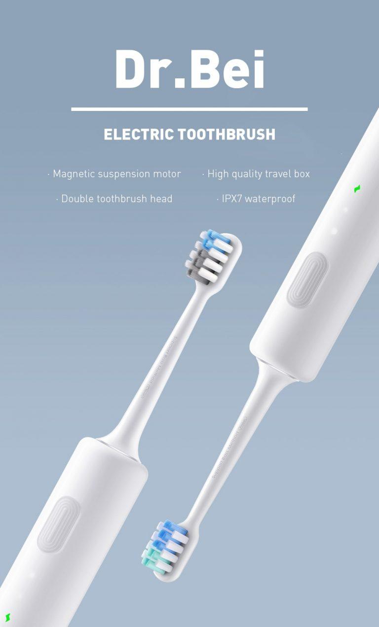 Újabb olcsó elektromos fogkefe a DR.BEI-től 2