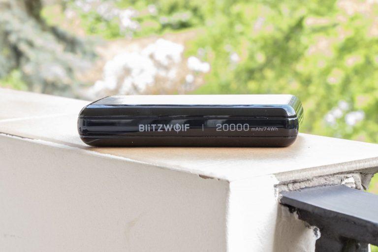 BlitzWolf BW-P14 powerbank teszt 7