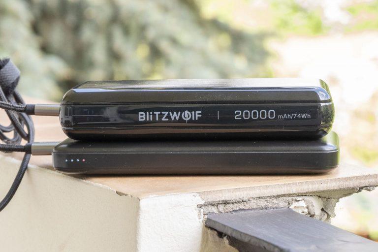 BlitzWolf BW-P14 powerbank teszt 4