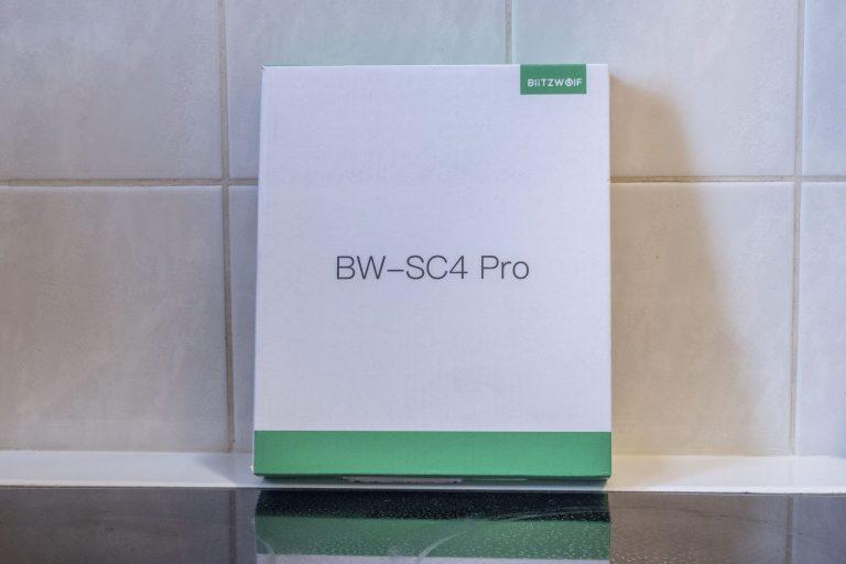 BlitzWolf BW-SC4 Pro konyhai okosmérleg teszt 2