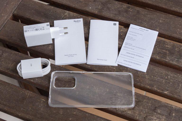 Xiaomi Redmi Note 10 Pro okostelefon teszt 3