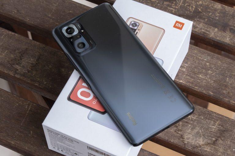 Xiaomi Redmi Note 10 Pro okostelefon teszt 4