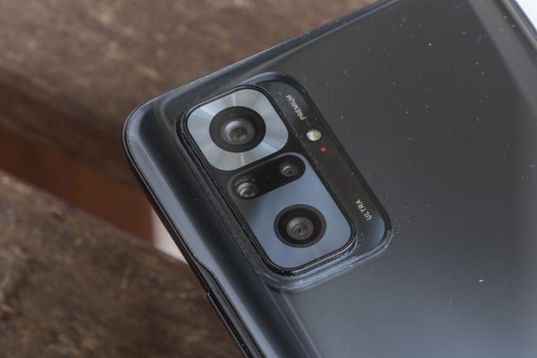 Xiaomi Redmi Note 10 Pro okostelefon teszt 5