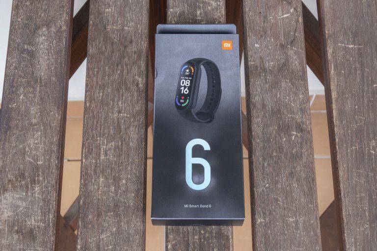 Xiaomi Mi Smart Band 6 aktivitásmérő teszt 2