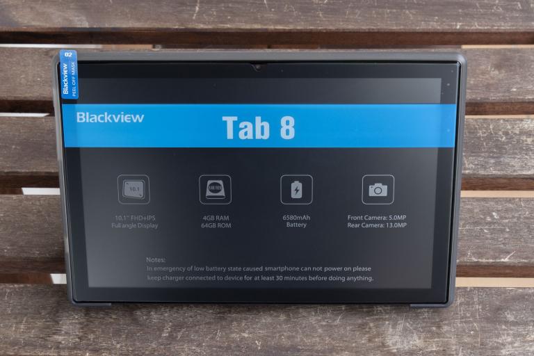 Blackview Tab 8 tablet teszt 5