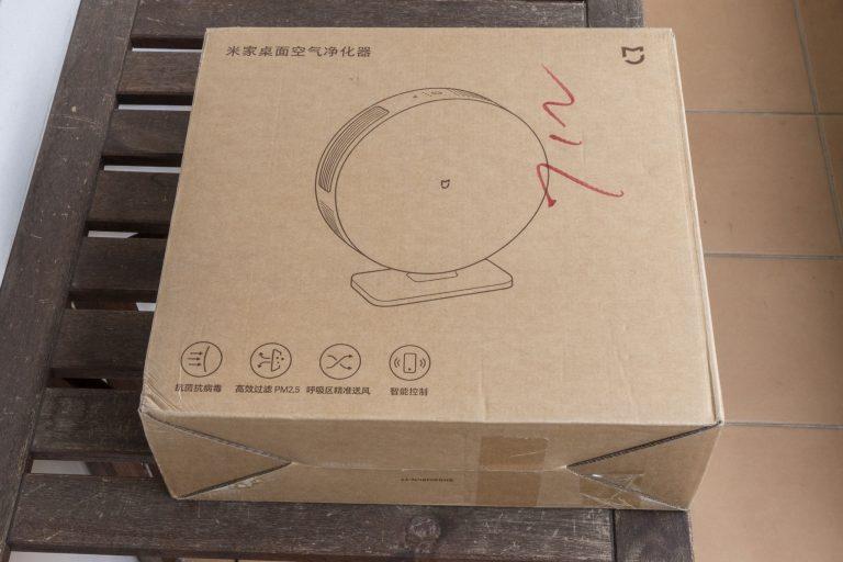 Xiaomi Mijia asztali légtisztító teszt 3