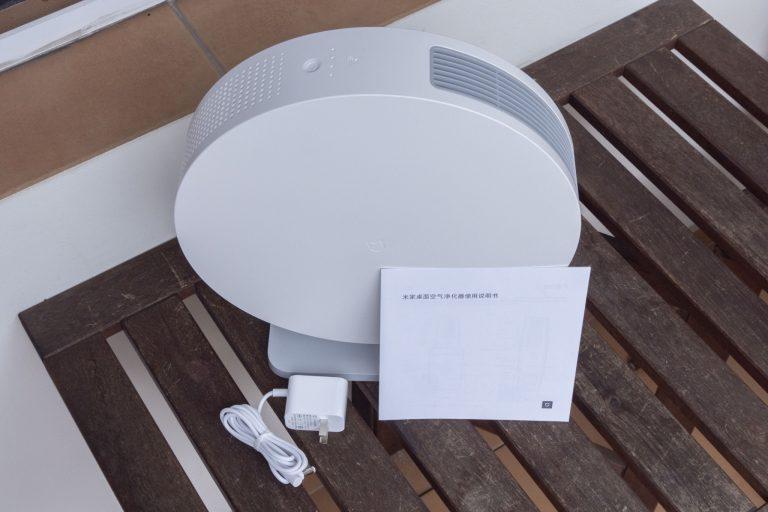 Xiaomi Mijia asztali légtisztító teszt 4