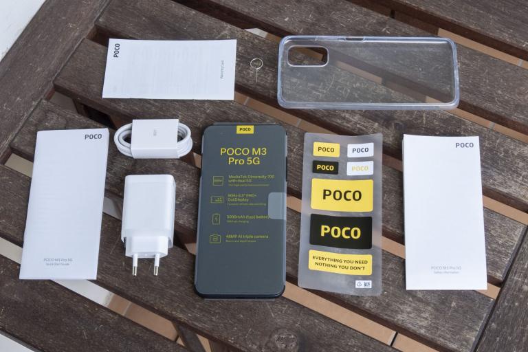 Poco M3 Pro okostelefon teszt 3