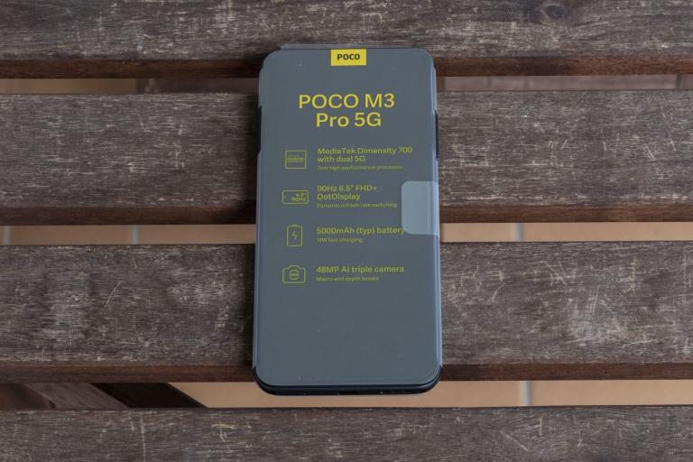 Poco M3 Pro okostelefon teszt 5