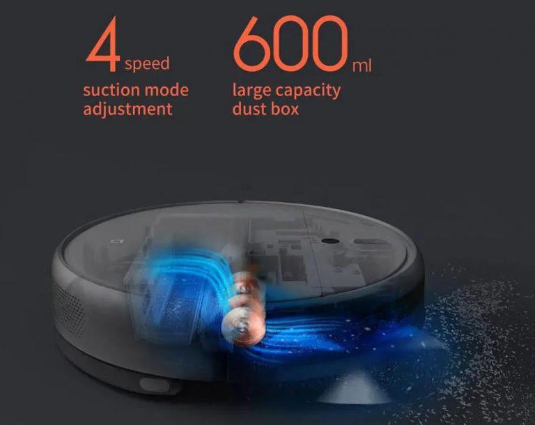 Olcsó robotporszívó ajánló: Xiaomi Vacuum-Mop 60 000 Ft alatt 5