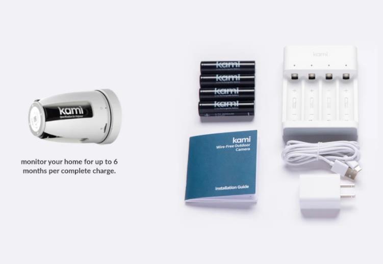 Yi Kami akkumulátoros kültéri kamera kiemelkedően jó áron 6