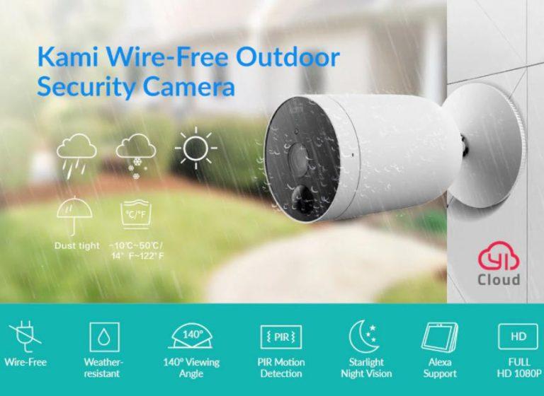 Yi Kami akkumulátoros kültéri kamera kiemelkedően jó áron 2
