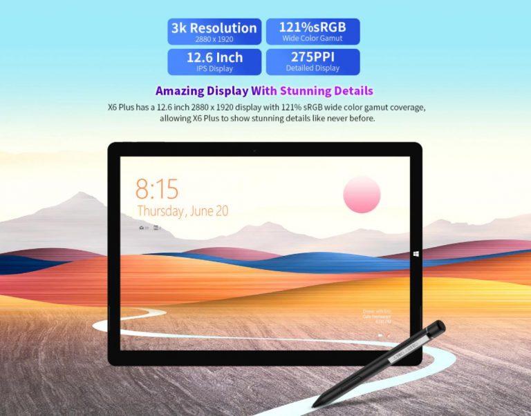 Már kapható a Teclast X6 Plus táblagép 3