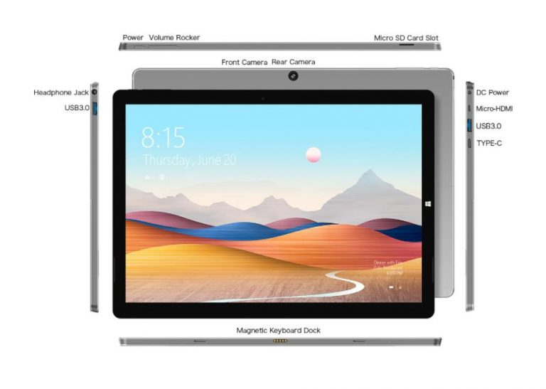 Már kapható a Teclast X6 Plus táblagép 11