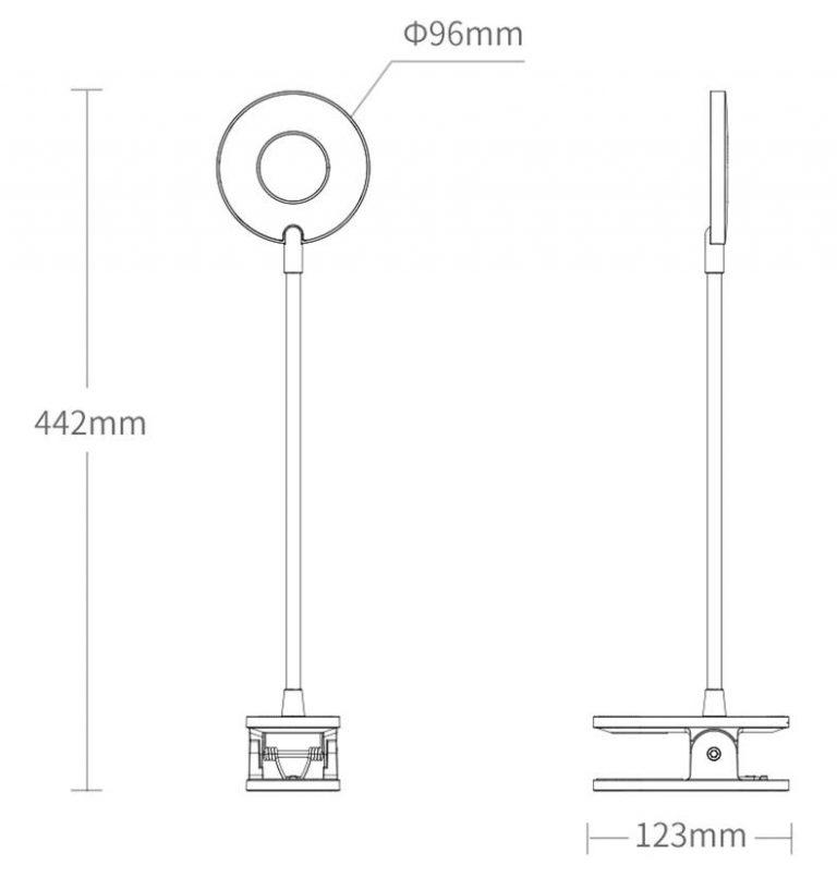 Yeelight akkumulátoros, csíptetős lámpa az EU raktár sztárja 11
