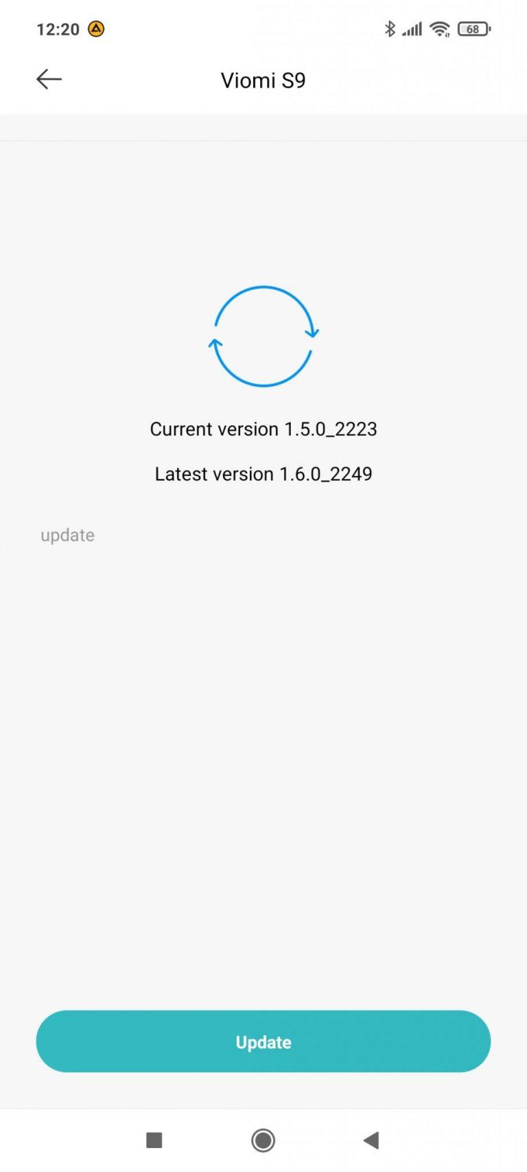 Xiaomi Viomi S9 Alpha UV önürítő robotporszívó teszt 22