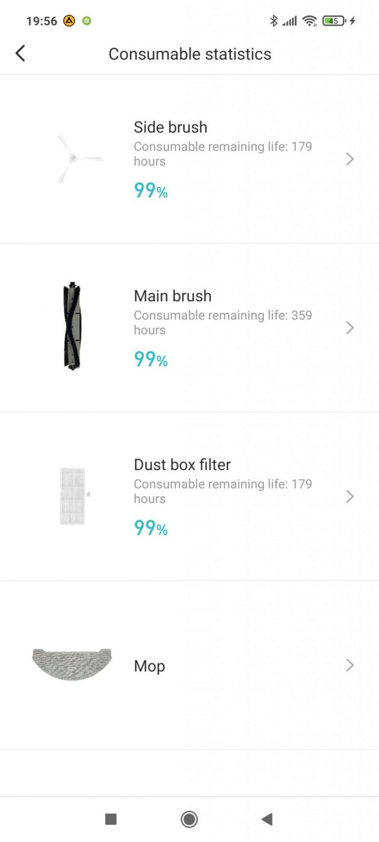 Xiaomi Viomi S9 Alpha UV önürítő robotporszívó teszt 31