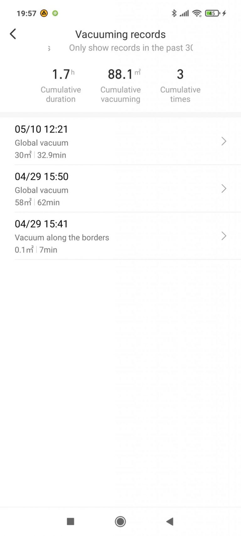 Xiaomi Viomi S9 Alpha UV önürítő robotporszívó teszt 33