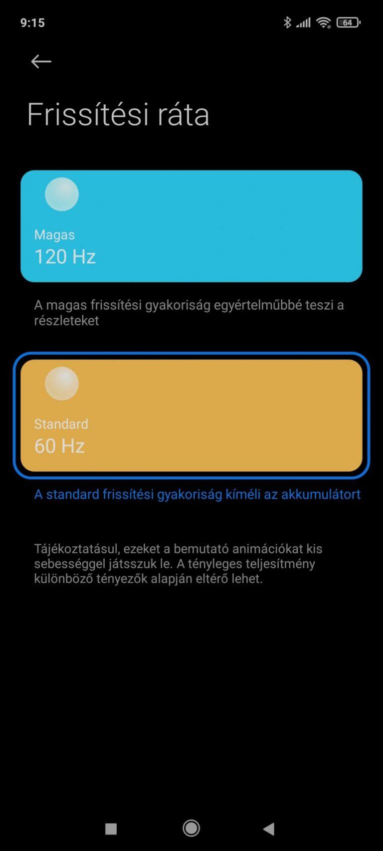 Xiaomi Redmi Note 10 Pro okostelefon teszt 21