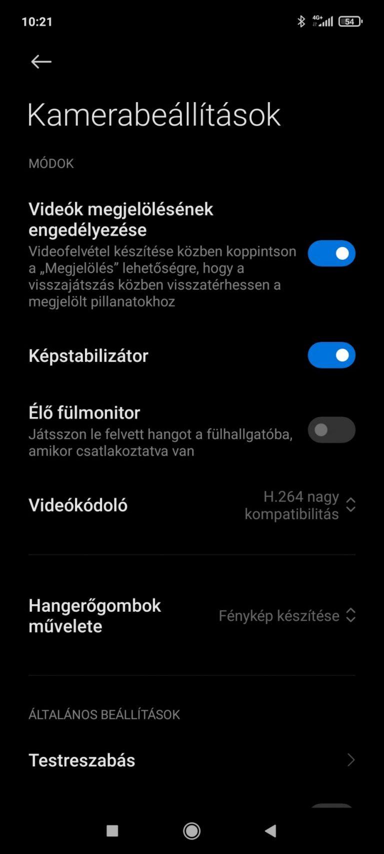 Xiaomi Redmi Note 10 Pro okostelefon teszt 22
