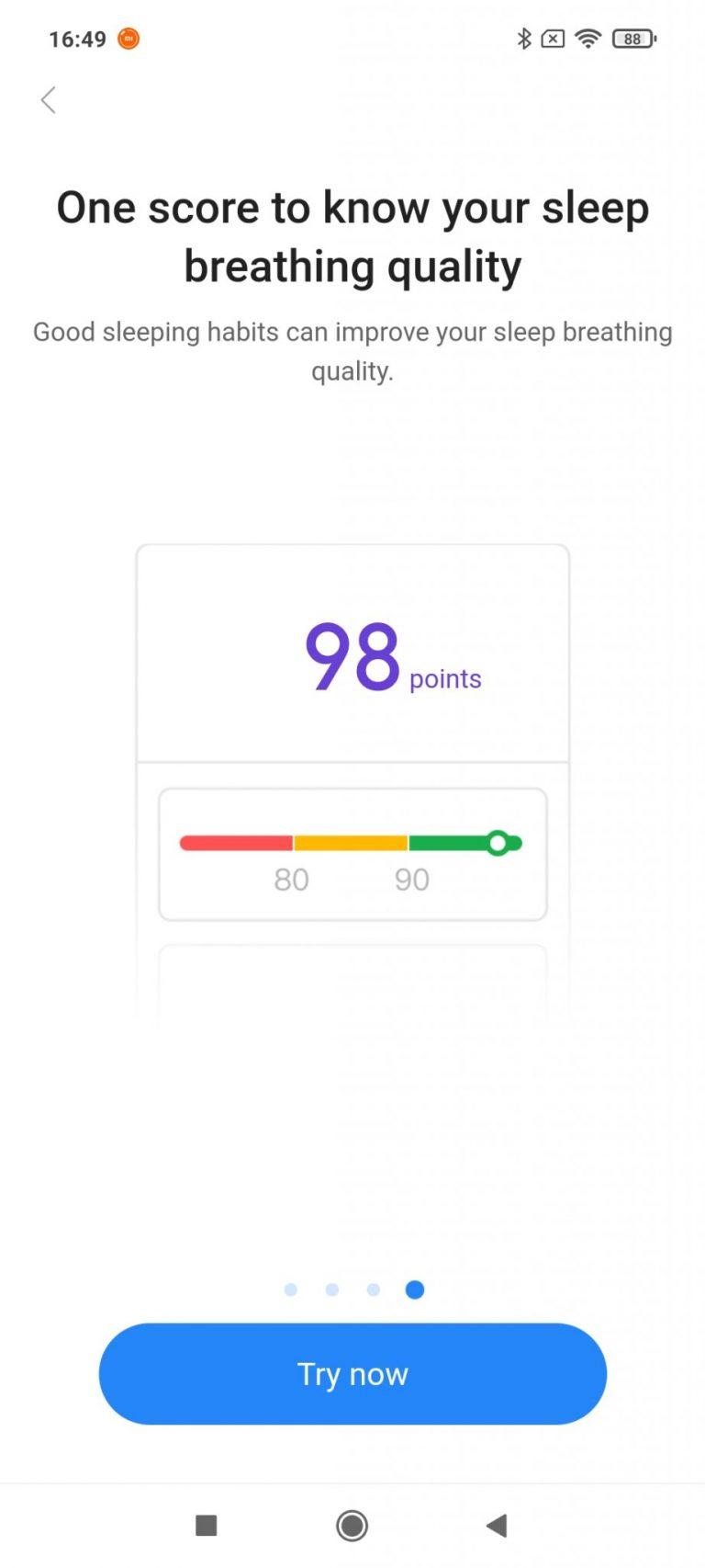 Xiaomi Mi Smart Band 6 aktivitásmérő teszt 17