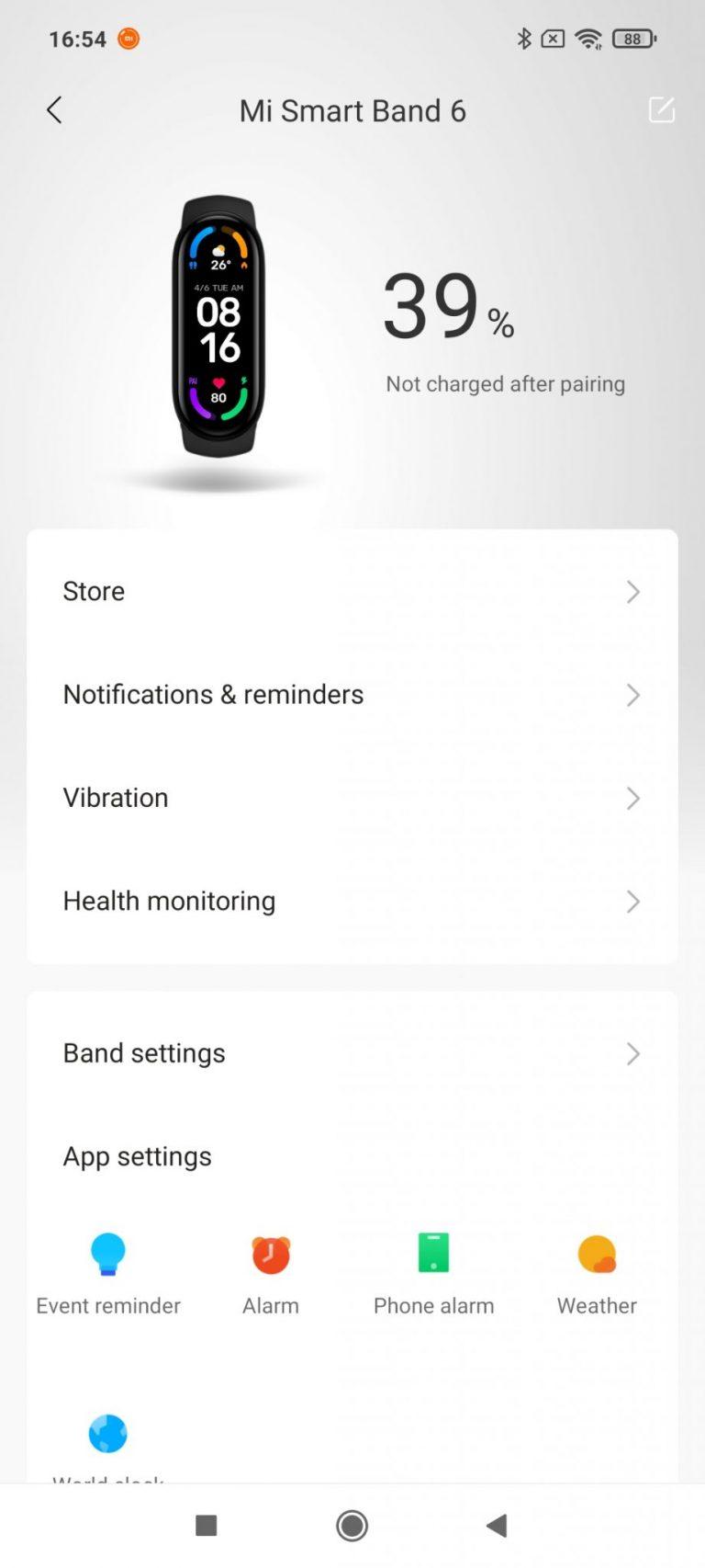 Xiaomi Mi Smart Band 6 aktivitásmérő teszt 18