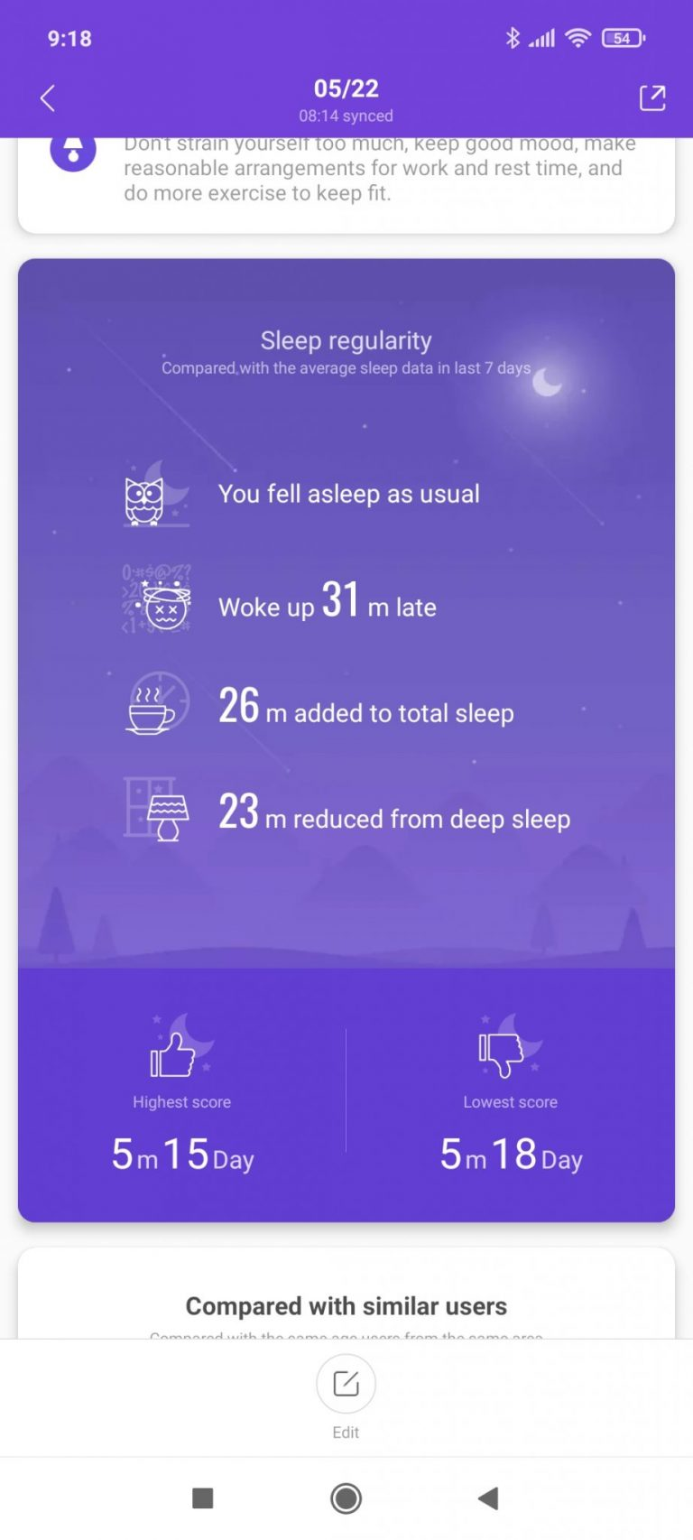Xiaomi Mi Smart Band 6 aktivitásmérő teszt 24