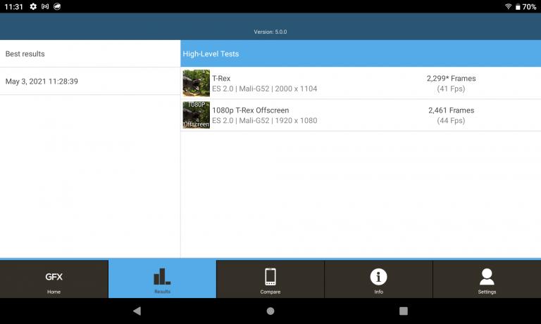 Alldocube iPlay 40 tablet teszt 20