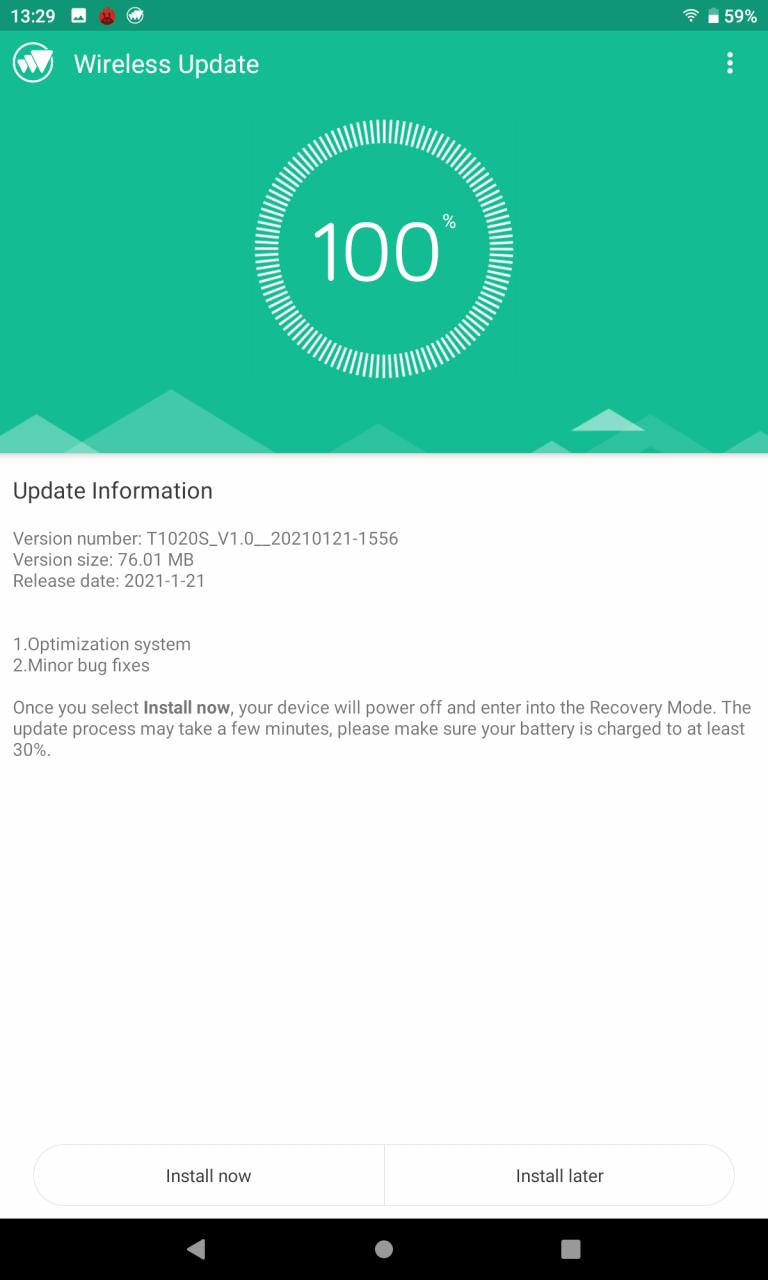Alldocube iPlay 40 tablet teszt 14