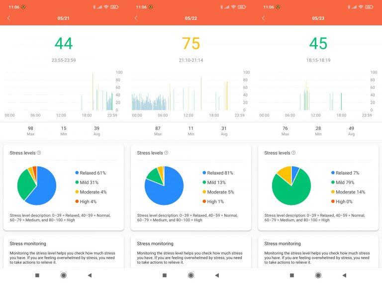 Xiaomi Mi Smart Band 6 aktivitásmérő teszt 21