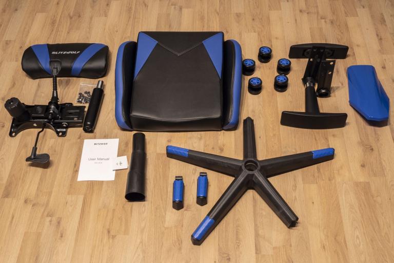 BlitzWolf BW-GC6 gamer szék teszt 18