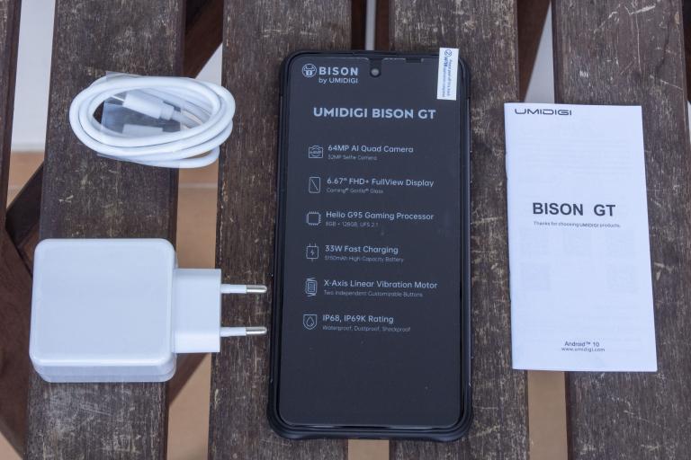 Umidigi Bison GT strapatelefon teszt 3