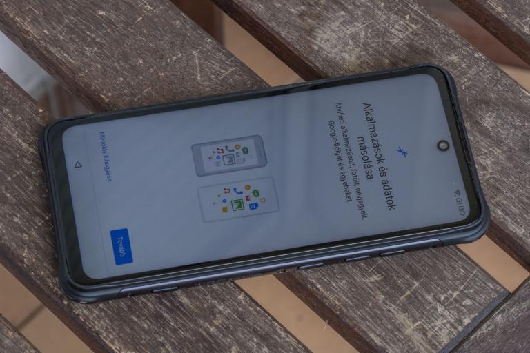 Umidigi Bison GT strapatelefon teszt 16